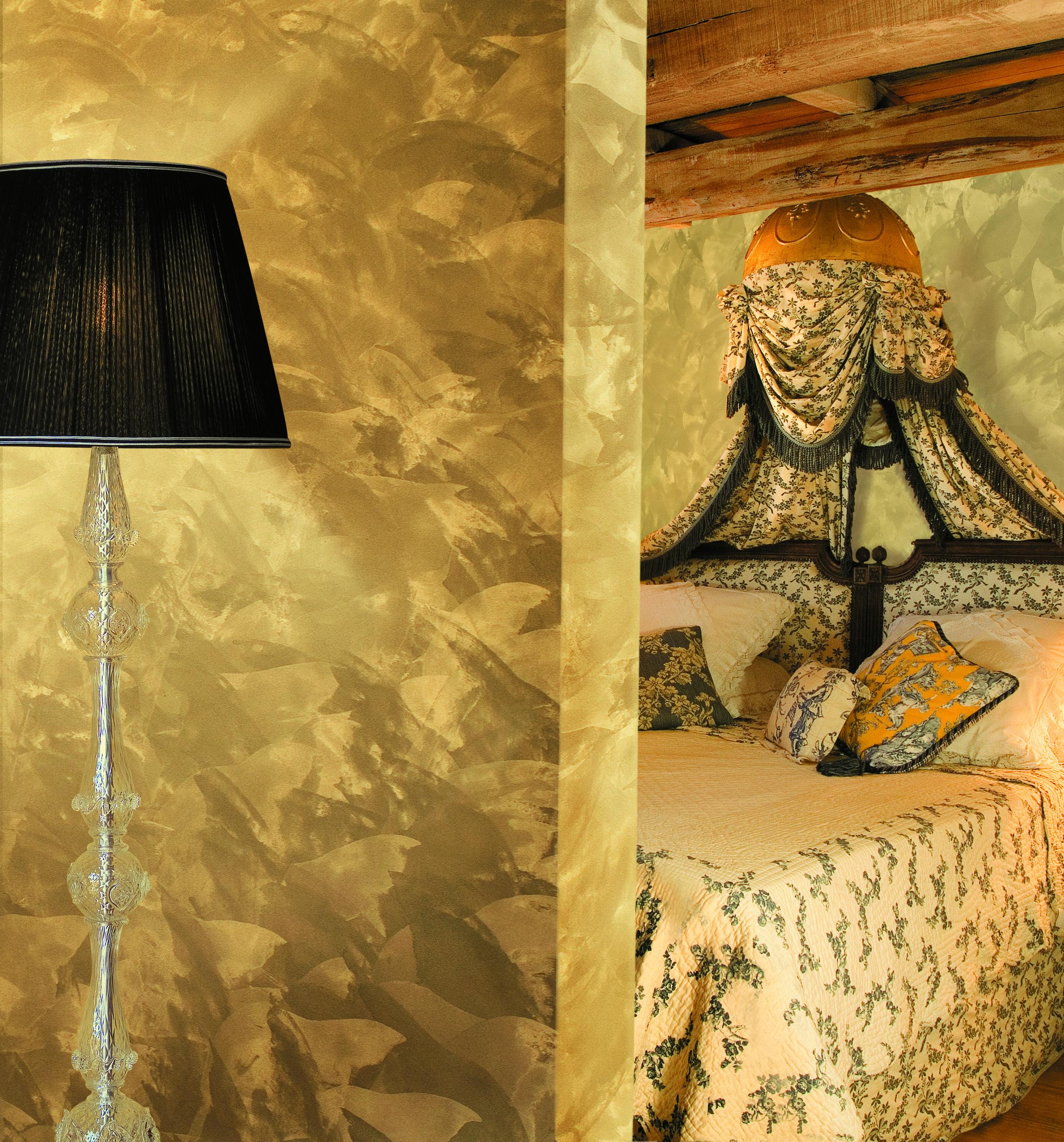 Decorativo Antico Damasco Oro