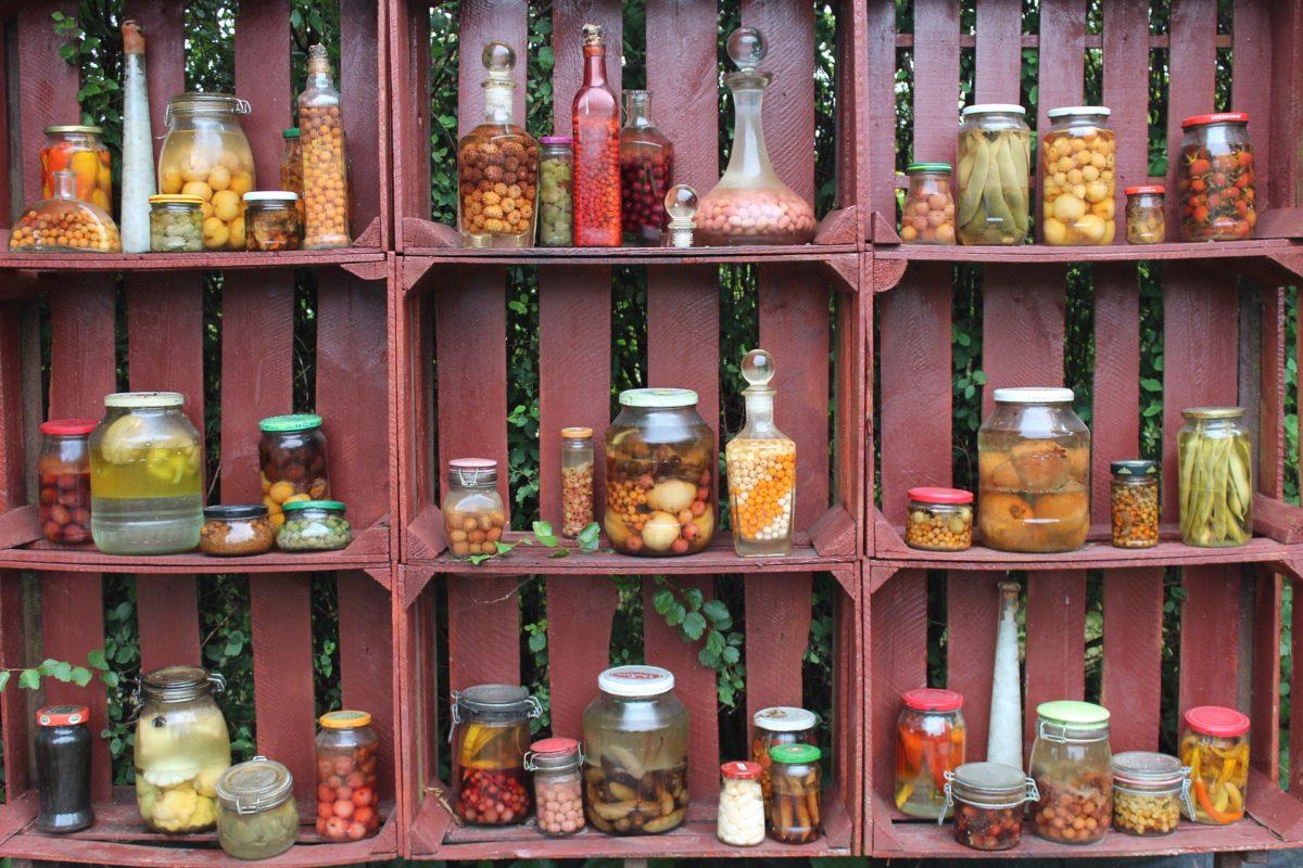 cassette della frutta riciclate