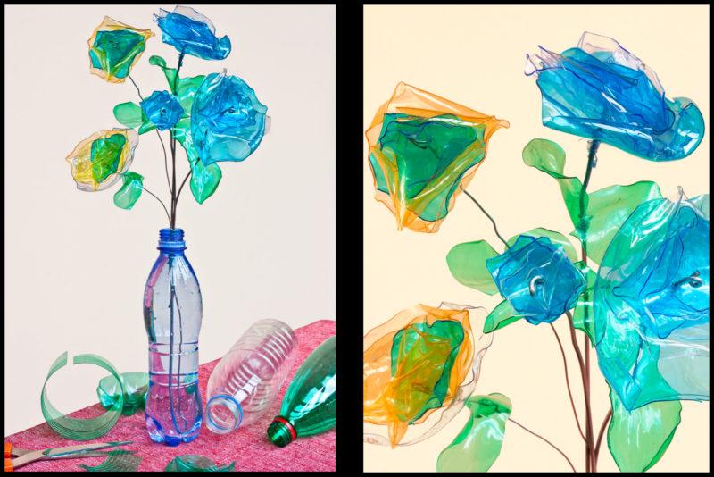 Come riciclare le bottiglie di plastica: esempi